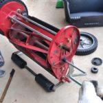 【バロネスLM4D】写真でわかる芝刈り機の簡易研磨の方法😄✨