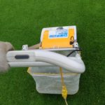 芝生のサッチ取りはリョービ芝刈り機のサッチング刃が簡単で便利😃✨