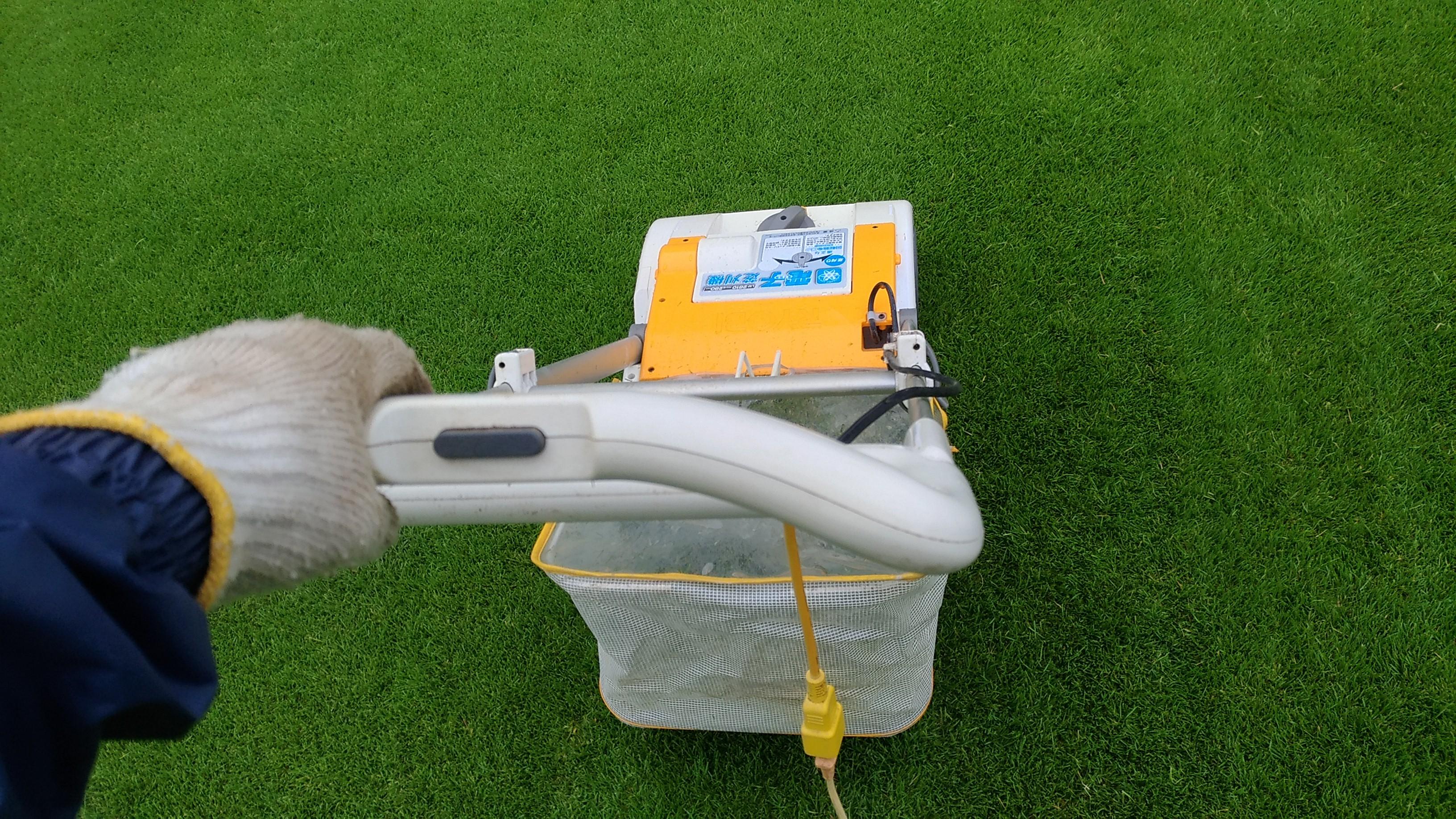 【レビュー】リョービ芝刈り機のサッチング刃は簡単で便利😃✨