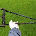 芝生エアレーション!固くて土が抜けないときの対策😃✨