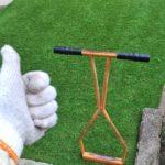 芝生エアレーションの時間を短くする方法😃✨